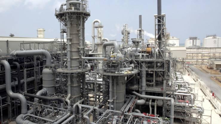 Produktionsstätte in Ras Laffan: Knapp ein Drittel des weltweiten Flüssiggases wird in Katar produziert. (Archiv)