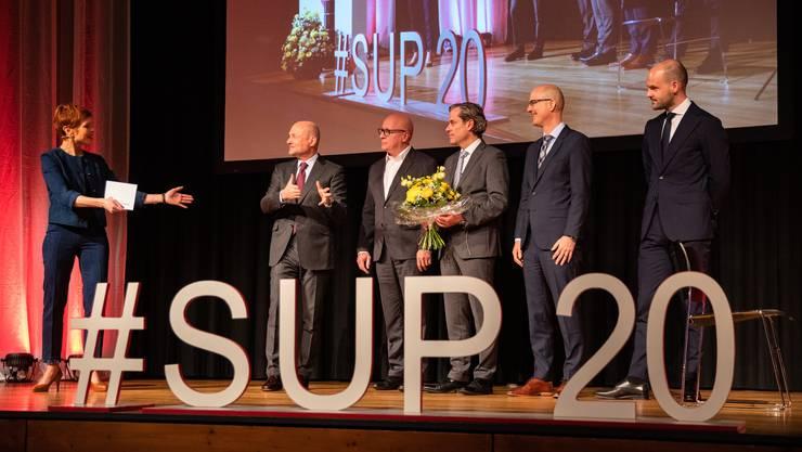 Breitling erhielt den Unternehmerpreis. Ein Highlight für Grenchen.