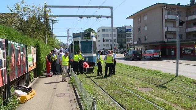 Tödlicher Tramunfall in Zürich