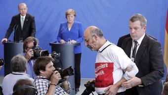 Staatsbesuch des türkischen Präsidenten Recep Tayyip Erdogan in Deutschland