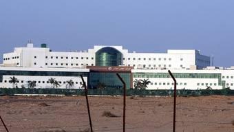 In diesem Spital liegt Mubarak (Archiv)