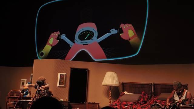 Mit Animation und viel Humor: Szenen der Festival-Eröffnung.