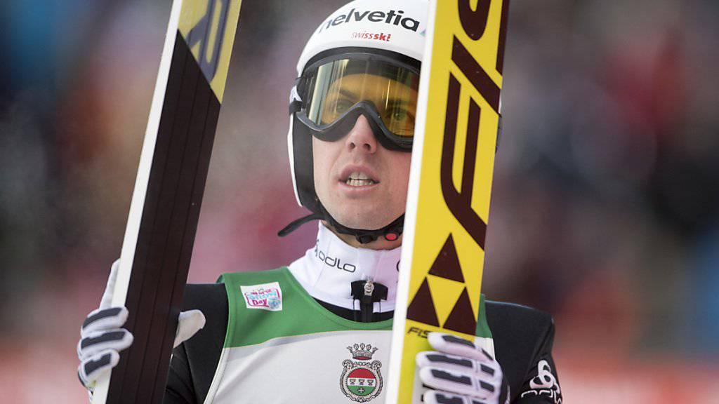Simon Ammann vermochte sich zum zweiten Mal in Folge nicht für einen Finaldurchgang im Weltcup zu qualifizieren