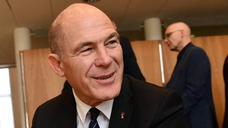 Erleichtert nahm CVP-Finanzdirektor Anton Lauber von den Resultaten aus den Gemeinden Notiz.