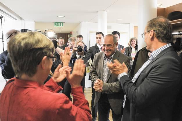Applaus für Claude Janiak: Er bleibt Baselbieter Ständerat.
