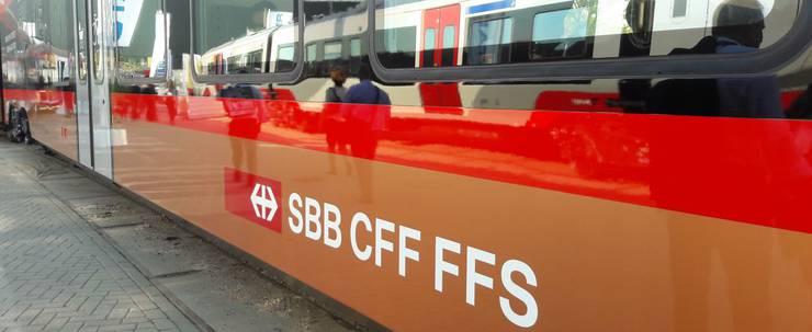 Neuer Gotthard-Zug im Co-Branding SOB-SBB