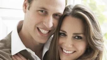 Prinz William und seine Kate (Archiv)