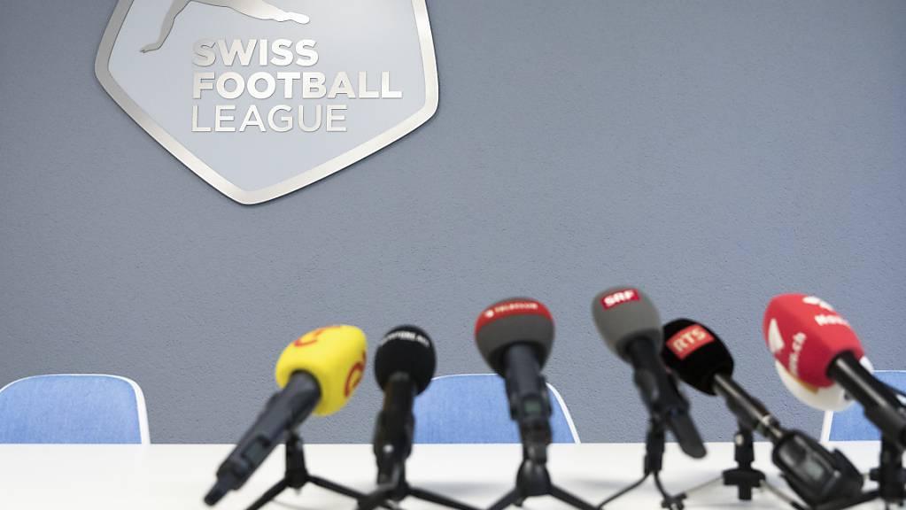 Die obersten zwei Schweizer Ligen neben den Betrieb in der neuen Saison am 12./13. September auf