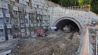 Eppenbergtunnel und Sonderdeponie Kölliken