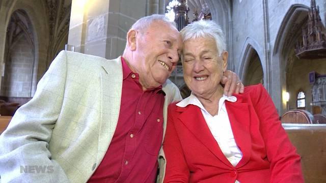 Ehepaar feiert 67. Hochzeitstag