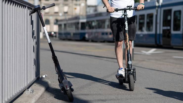 Auch E-Scooter werden in die neue App integriert.