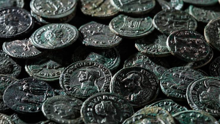 Erst rund 250 der insgesamt 4166 Münzen sind restauriert. Sie sind in einem bemerkenswert guten Erhaltungszustand.