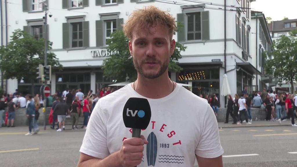 EM-Kracher: Stimmung nach dem Spiel in St.Gallen