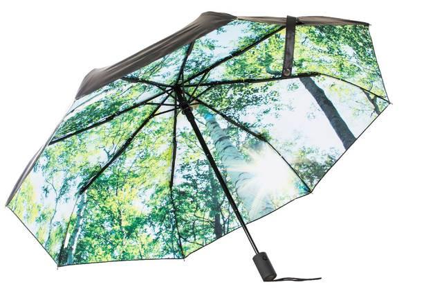 Lichtblick: der Regenschirm Forest von Happysweeds. 76 Fr.