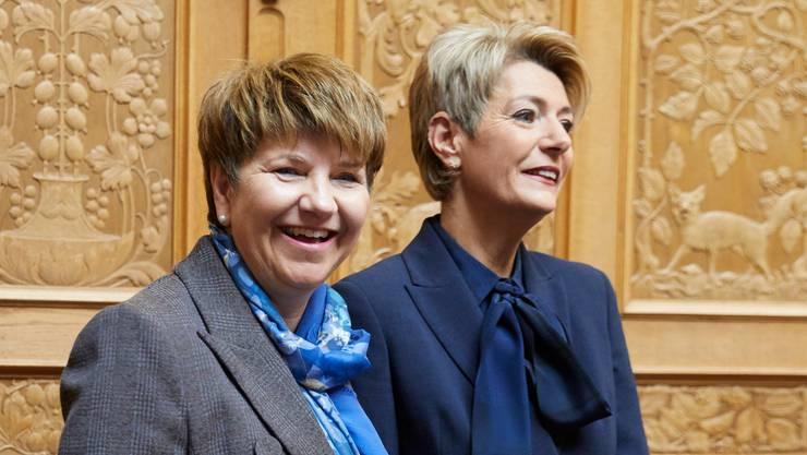 Viola Amherd und Karin Keller-Sutter: Sie verändern die Dynamik im Bundesrat.