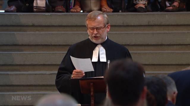 Grosser Abschied für Pfarrer Ernst Sieber