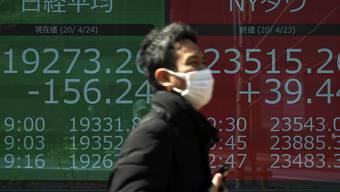 Die japanische Zentralbank hat am Montag bekanntgegeben, dass sie aufgrund der Coronavirus-Krise weitere Massnahmen an den Kapitalmärkten umsetzen werde. (Archivbild)