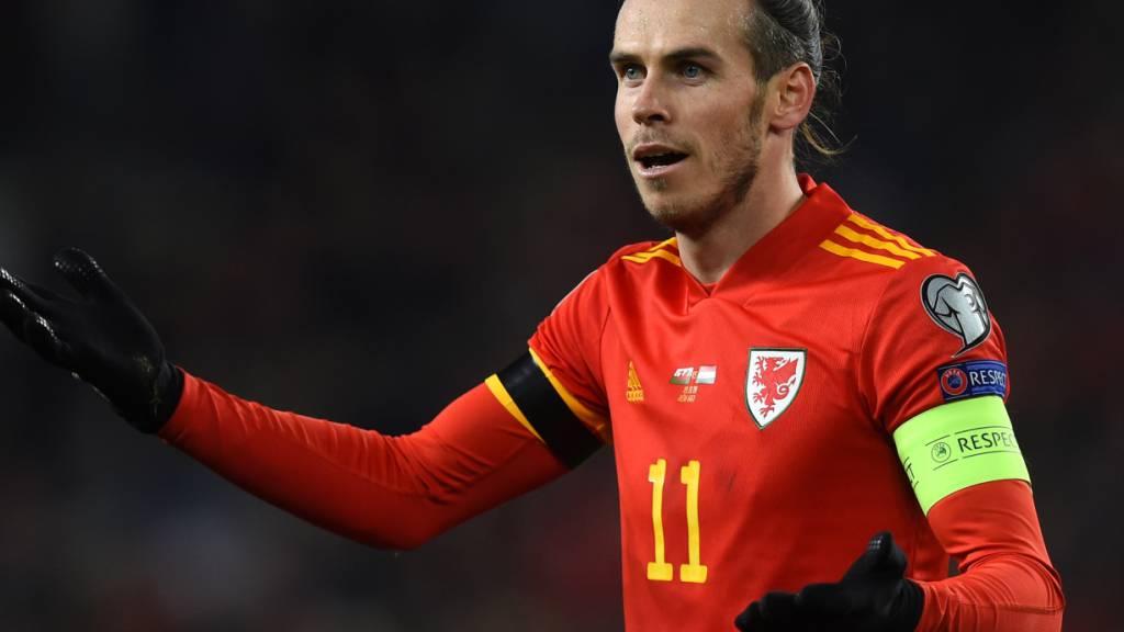 Gareth Bale trifft am 12. Juni in Baku mit Wales auf die Schweiz