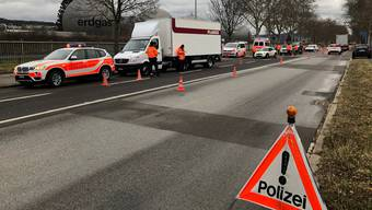 Der Schwerpunkt der Kontrolle war «Lieferwagen und ausländische Fahrzeuge.»