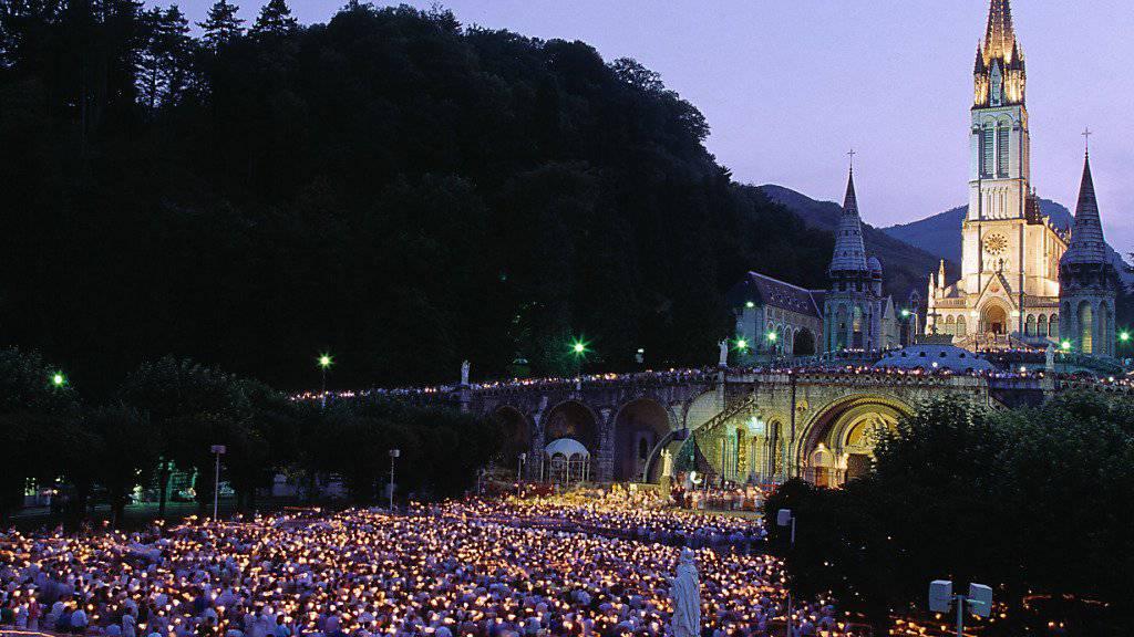 Im südfranzösischen Wallfahrtsort Lourdes hat die Polizei eine Geiselnahme beendet. eine Geisel soll dabei verletzt worden sein. (Archivbild)