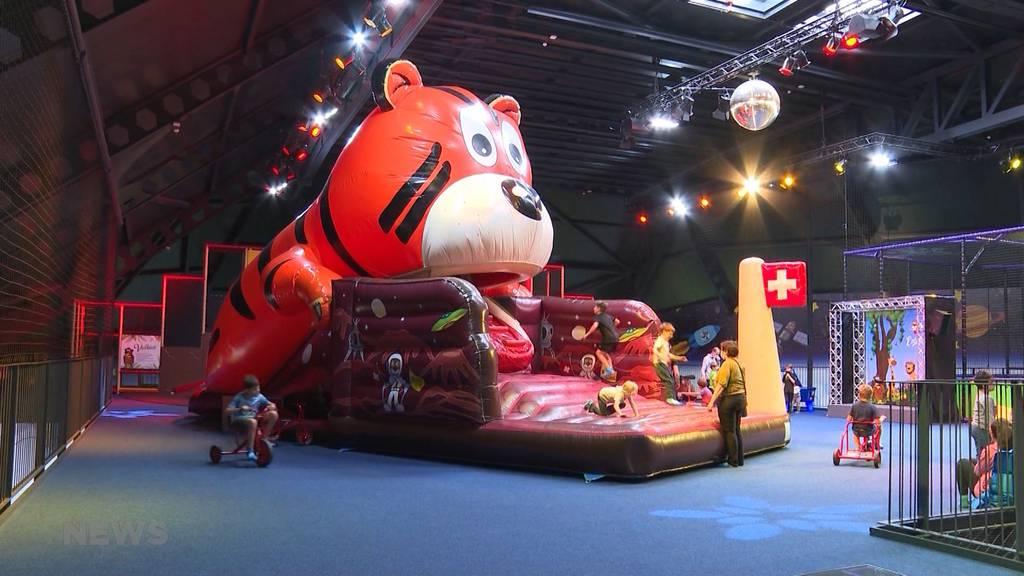 Nach einem Jahr Pause: Kiddy Dome in Rohrbach wieder offen