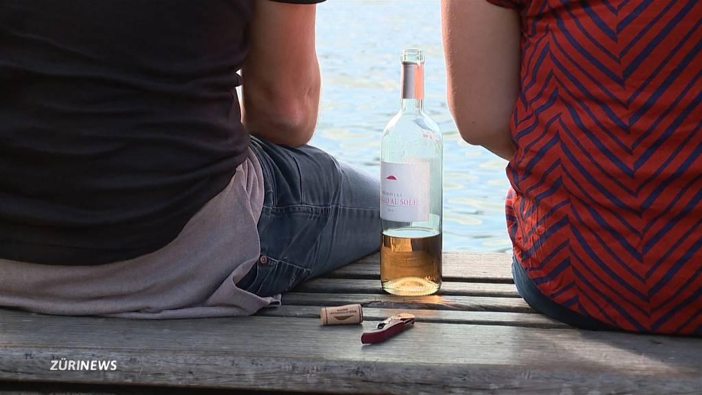 Alkohol-Tabu am See?
