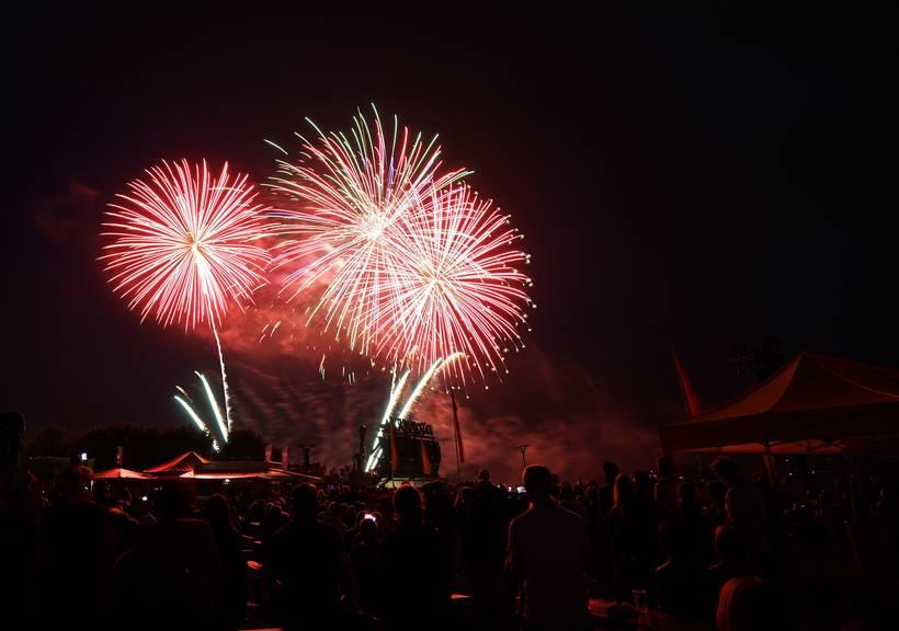 Das Feuerwerk war das Highlight am Seenachtsfest (Bild: pd)