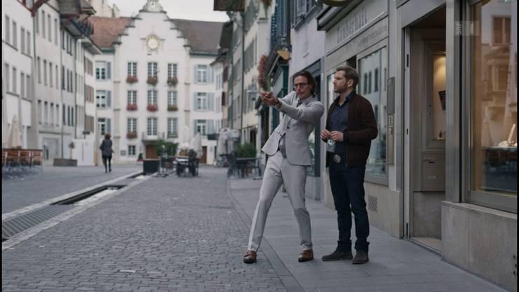 Bestatter (Staffel 7): Die Crew in der Aarauer Rathausgasse.