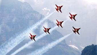 Patrouille Suisse wird in Dittingen zu sehen sein.