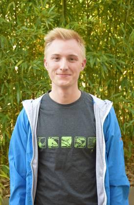 Diplom: Nils Habich aus Merenschwand (Kantonsschule Wohlen)