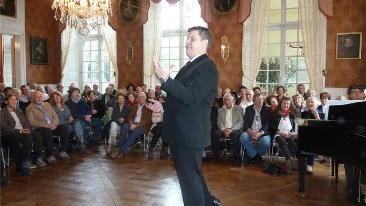 Mit Schalk und Dramatik verzauberte Boris Petronje das Publikum.