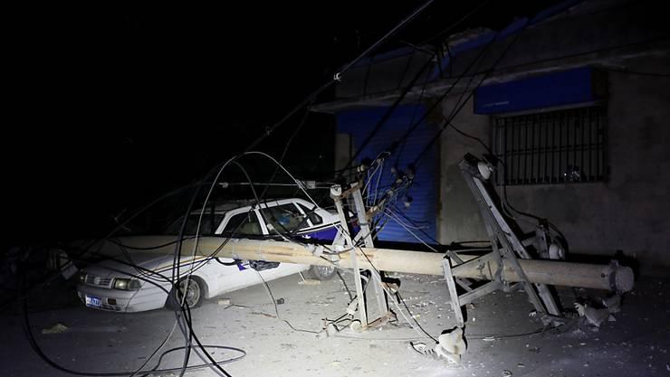 Bei einer Explosion in China sind zahlreiche Menschen getötet worden, und es ist vielerorts Sachschaden entstanden.
