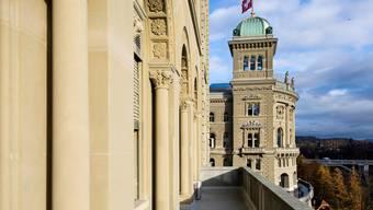 Wegen der angespannten Coronalage wird der Zugang zum Bundeshaus wieder stärker eingeschränkt.  (Symbolbild)