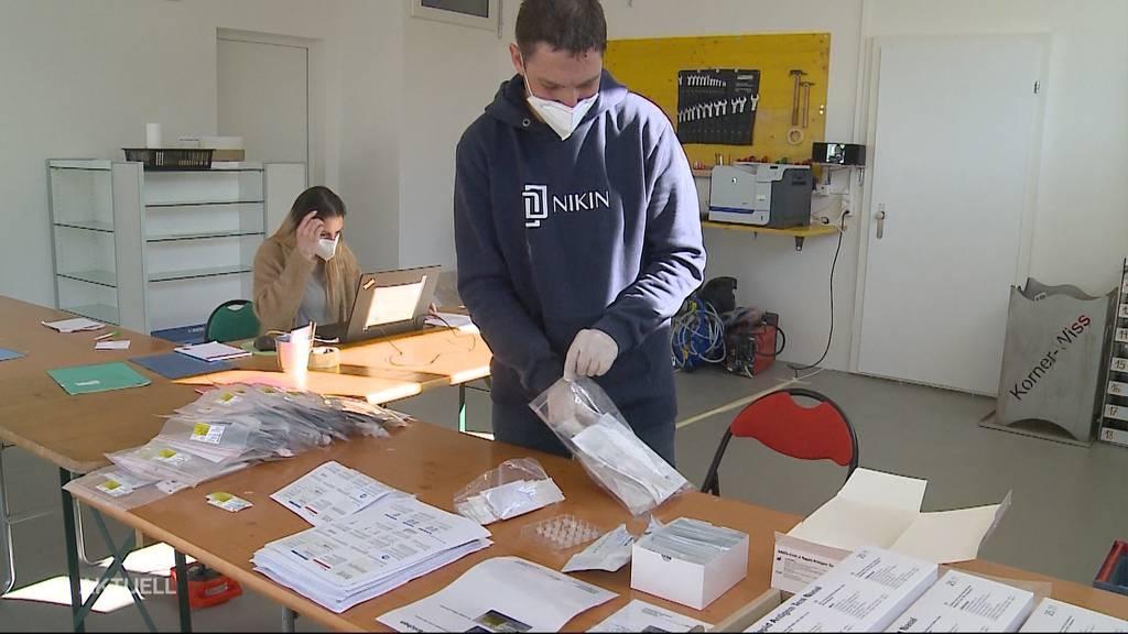 Verfrühter Selbsttest-Stress wegen «falscher» Verpackung: Apotheken rüsten sich für Ansturm