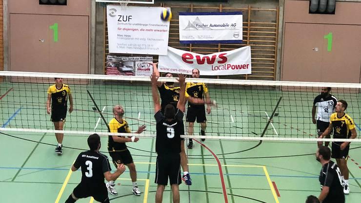 Das Herren 2 holte seine ersten drei Punkte in der 3. Liga gegen Schöftland, nachdem das Team im letzten Frühling aufgestiegen ist.