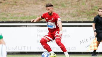 Muss mit dem FC Baden ein erneutes Unentschieden hinnehmen: Mileta Matovic und der FC Baden erreichen gegen Biel ein 3:3.