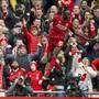 Der FC Liverpool hebt wieder ab: Sadio Mané nach dem Siegestor gegen Bournemouth