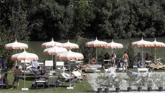 Das Strandbad am Tiber: Die Aufwertung des Stadtflusses von Rom stösst immer wieder auf Hindernisse.