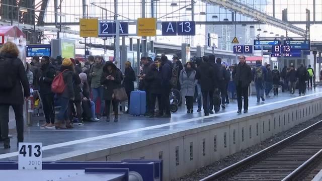 Fahrgäste müssen ganzen Tag mit Behinderungen rechnen