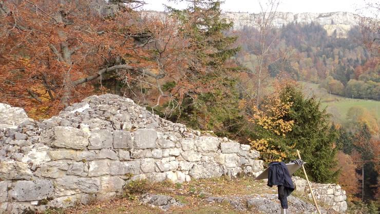 Am Samstag kann die Burg Grenchen besichtig werden.
