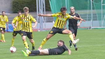 Gelb und schwarz aber nicht YB: Die Old Boys in der Promotions League.