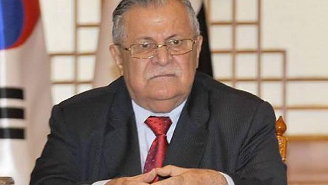 Gesundheitszustand von Talabani labil