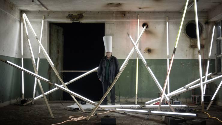 Die Arbeit «Olymp Illuminiert» von Pedro Meier aus Niederbipp ist eine Hommage an die DADA-Bewegung.