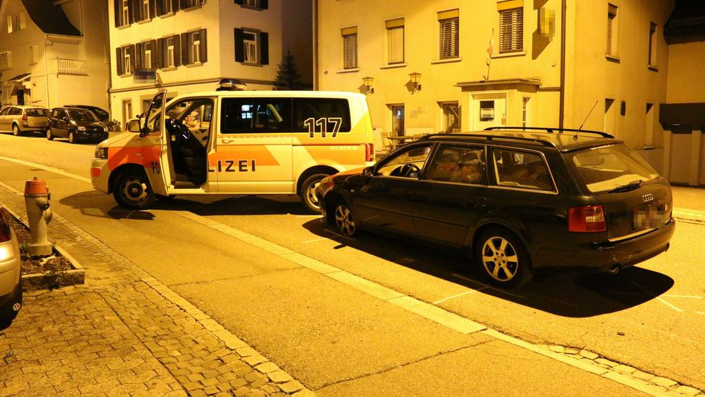 Turbulente Verfolgungsjagd in St.Gallen
