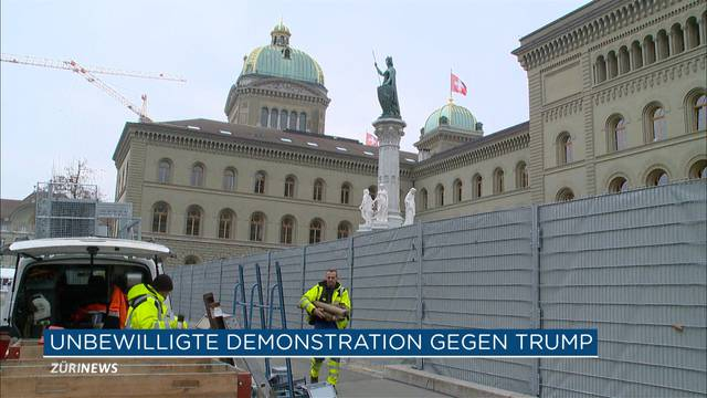 Angst vor Anti-WEF-Demo in Bern