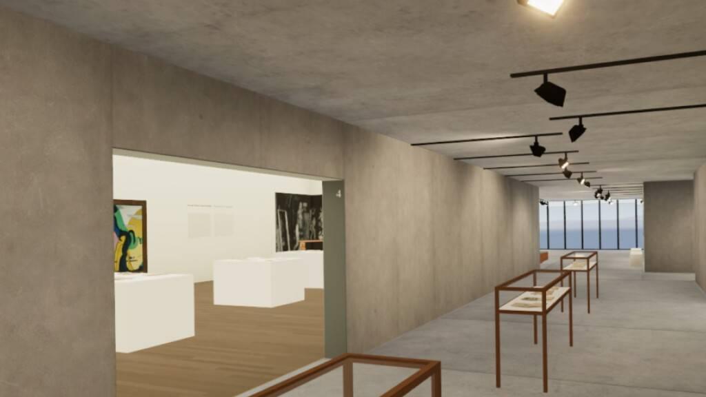 Mit VR-Brille vom Sofa aus durchs Kirchner Museum schlendern