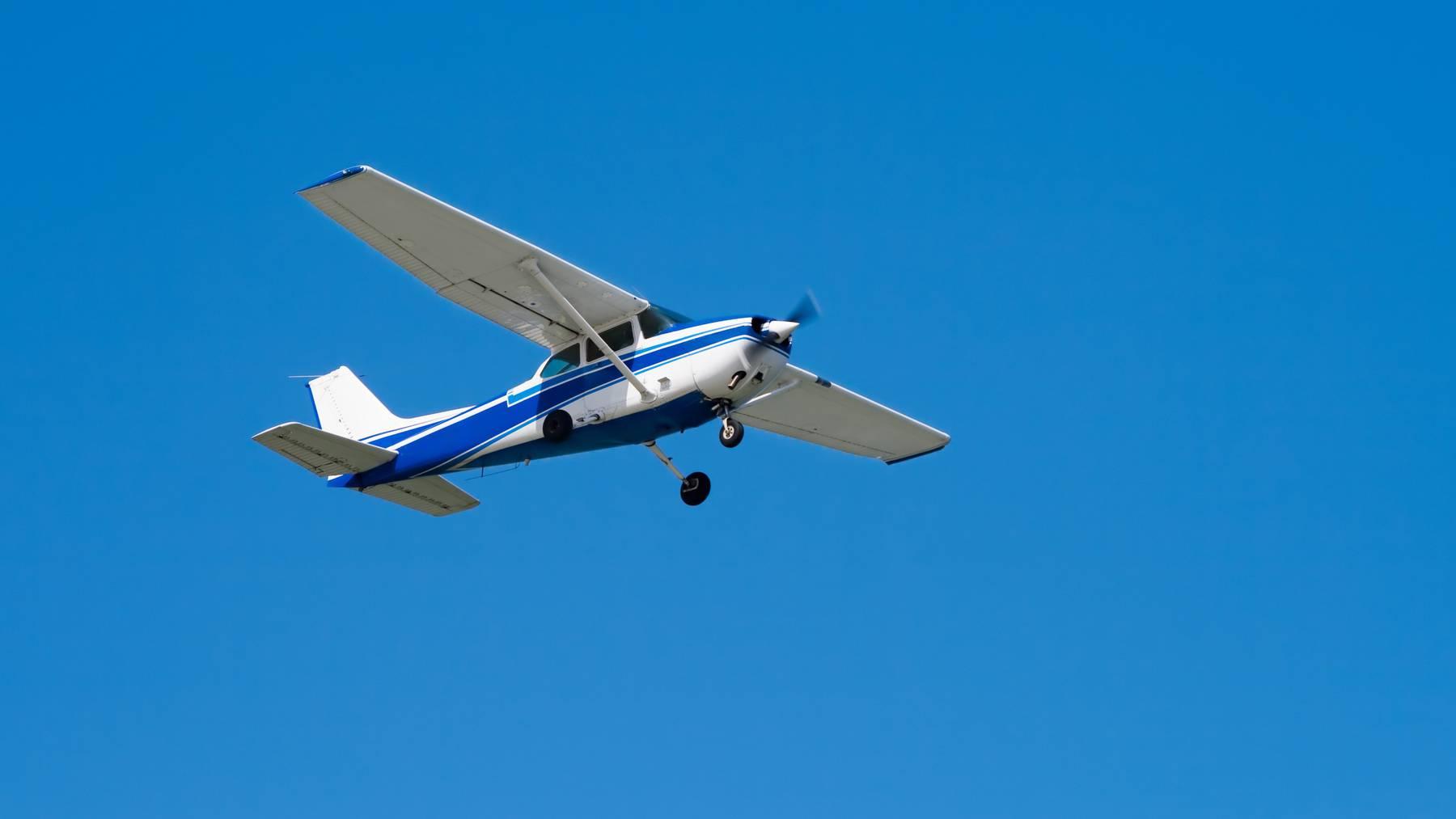 Symbolbild: Der Pilot vollführte eine mustergültige Landung.
