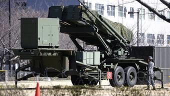 Patriot Raketen bald mit Schweizer Kreuz? (Archivbild)