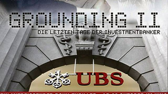Dieses fiktive Filmplakat kursierte beim UBS-Debakel. Nun soll ein solcher Film tatsächlich kommen.