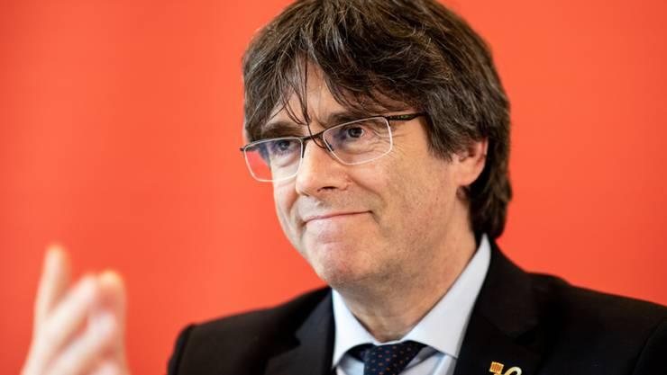 Carles Puigdemont, katalanischer Separatisten-Führer, darf sein Europa-Mandat nicht antreten. (Archivbild)